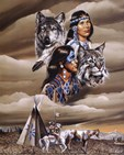 Native American Art Prints