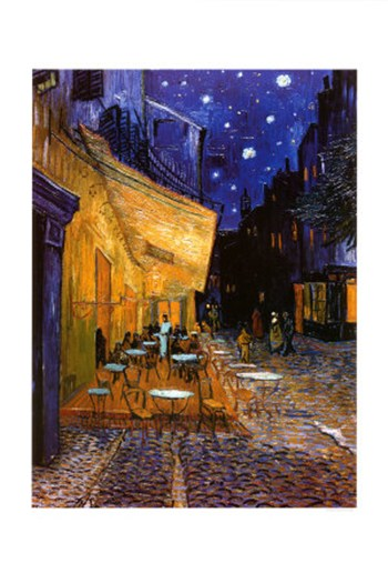 van gogh cafe terrace at night essay