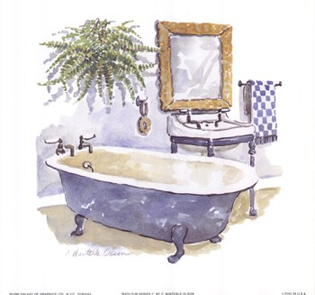 Bath Tub Series I  Fine-Art Print
