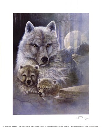 Mother's Protective Care  Fine-Art Print