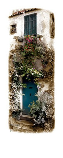 Doorway with Flowers  Fine-Art Print