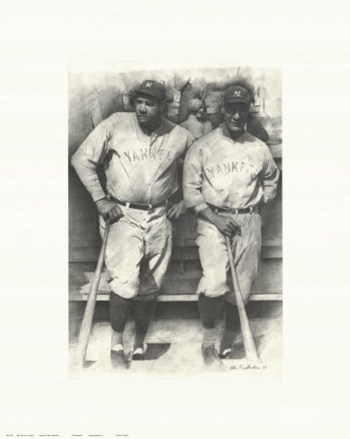 Ruth and Gehrig  Fine-Art Print
