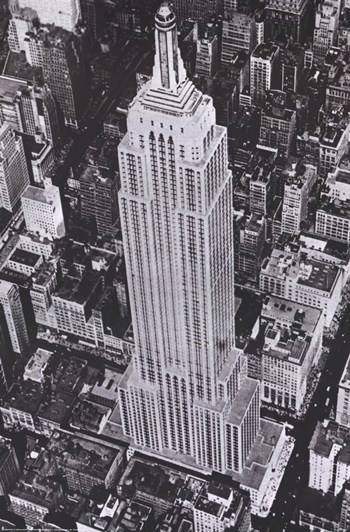 New York Empire State Building  Fine-Art Print