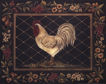 Old World Rooster  Fine-Art Print