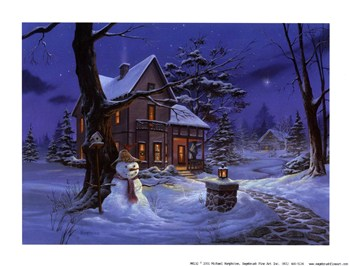 Once Upon a Winters Night  Fine-Art Print