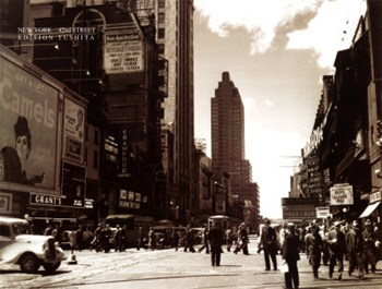 42nd Street NYC  Fine-Art Print