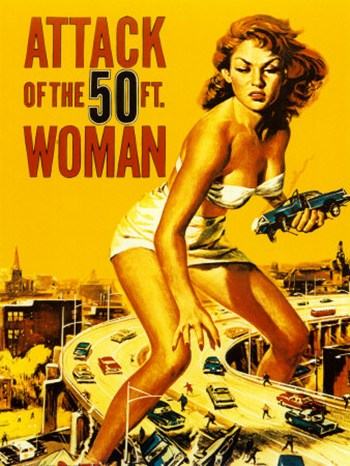 Attack of the 50 Ft. Woman  Fine-Art Print