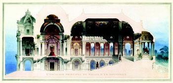 Palace of a Sovereign  Fine-Art Print