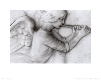 Angel with Trumpet  Fine-Art Print