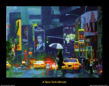New York Minute  Fine-Art Print