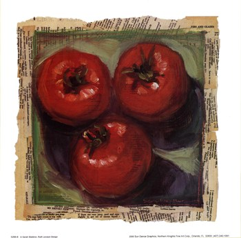 Three Tomatoes  Fine-Art Print