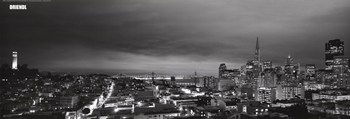 San Francisco - City View  Fine-Art Print