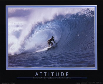 Attitude-What Happens to a Man  Fine-Art Print