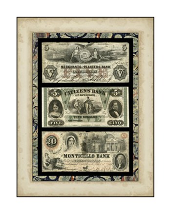 Money, Money, Money IV  Giclee
