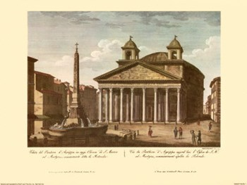 View of the Pantheon  Fine-Art Print