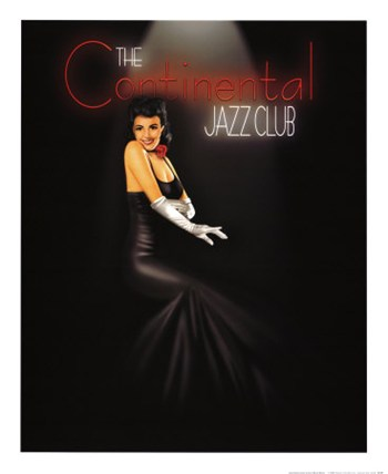 Continental Jazz Club  Fine-Art Print