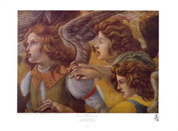 Angels (Detail from The Coronation)  Fine-Art Print