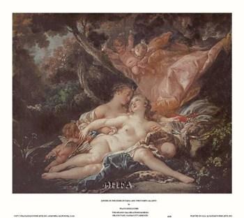 Jupiter in the Guise of Diana  Fine-Art Print