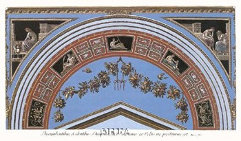 Detail/Loggia in the Vatican IV  Fine-Art Print