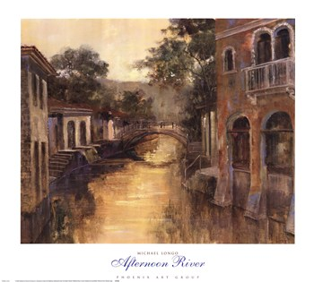 Afternoon River  Fine-Art Print