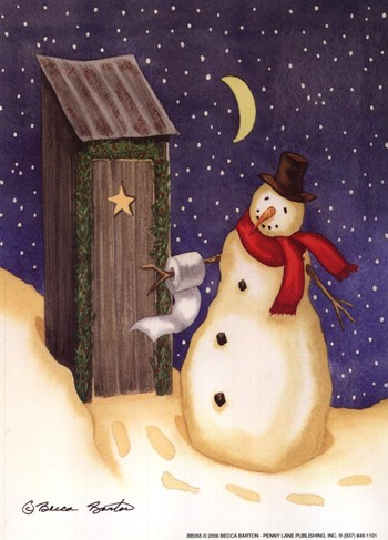 Frosty's Outhouse  Fine-Art Print