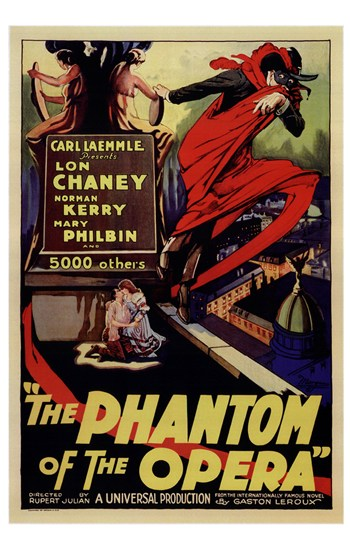 The Phantom of the Opera  Wall Poster