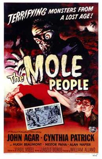 The Mole People  Wall Poster