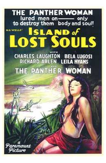 Island of Lost Souls  Wall Poster