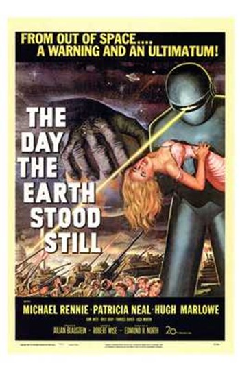 The Day the Earth Stood Still  Wall Poster