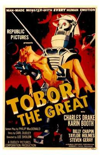 Tobor the Great  Wall Poster