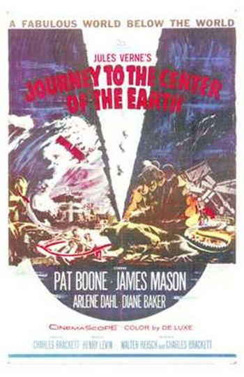 Journey to the Center of the Earth  Wall Poster