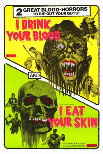 I Drink Your Blood  Wall Poster