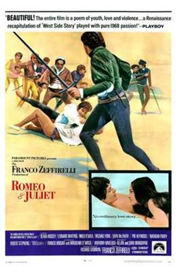 Romeo and Juliet  Wall Poster