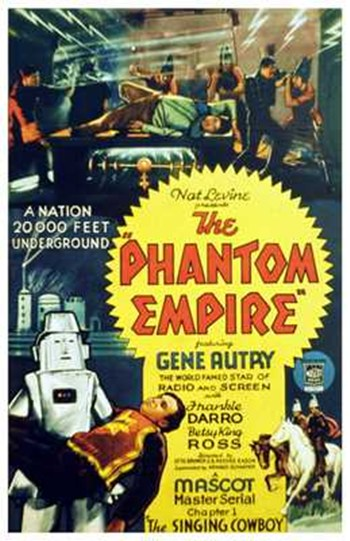 The Phantom Empire  Wall Poster