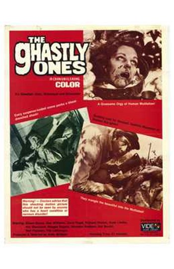 The Ghastly Ones  Wall Poster