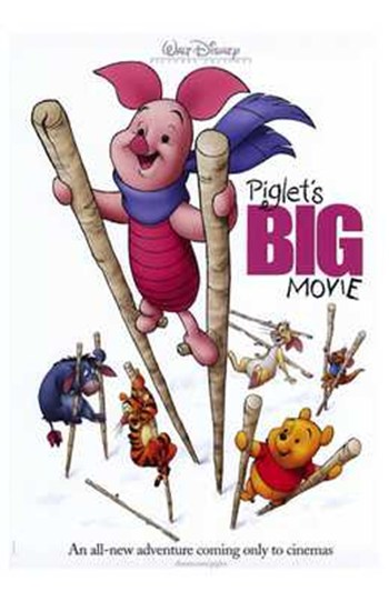 Piglet's Big Movie  Wall Poster