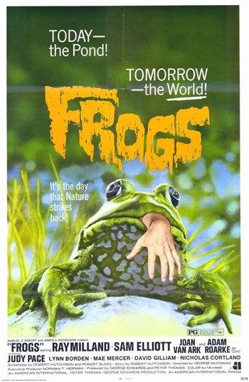 Frogs  Wall Poster