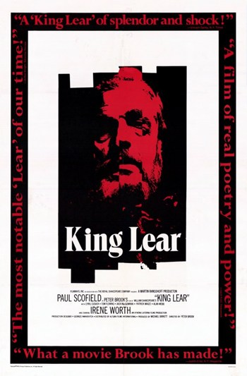 King Lear  Wall Poster