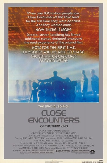 Close Encounters of the Third Kind  Wall Poster