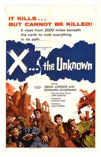X the Unknown  Wall Poster