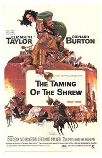 The Taming of the Shrew  Wall Poster