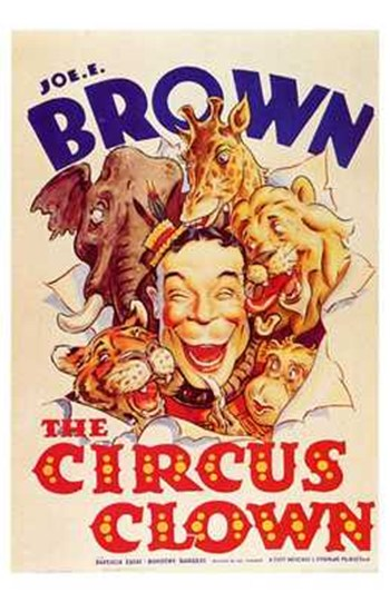 The Circus Clown Wall Poster
