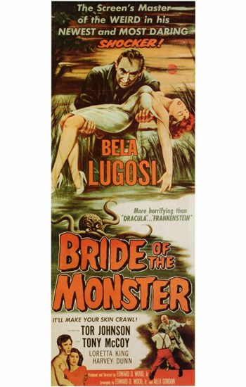 Bride of the Monster  Wall Poster