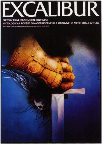 Excalibur  Wall Poster