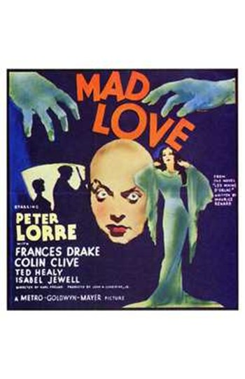 Mad Love  Wall Poster