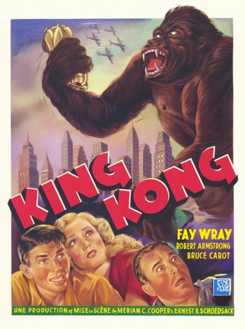 King Kong  Wall Poster