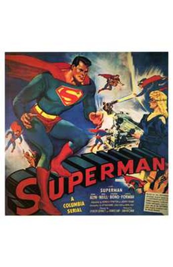 Superman  Wall Poster