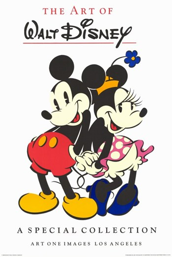 Mickey Mouse Commercial Gallery  Wall Poster