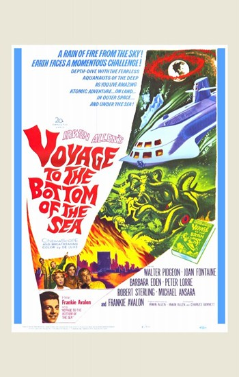 Voyage to the Bottom of the Sea  Wall Poster
