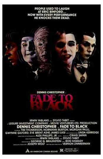 Fade to Black  Wall Poster